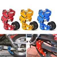 Motorcycle Aluminum Roller Chain Tensioner Adjuster For Dirt Pit Bike ATV