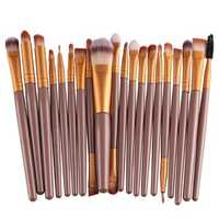 20Pcs Professional Makeup Brush Cosmetic Synthetic Hair Brushes Kit Set