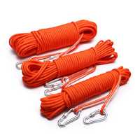 Climbing Rope Magnet Escape Rope Ice Climbing Equipment Water Rescue Parachute Rope Survival Tools
