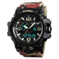 SKMEI 1155 50M Waterproof Men Sport Watch Fashion Luminous Display Digital Watch