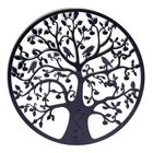 Offres Flash Round Wall Hanging Decorations Diameter 60cm Tree of Life Iron Art Home Hanging Ornament