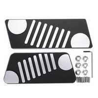 JK Modification Aluminum Alloy Accelerator Brake Pedal for Jeep Wrangler 07-16