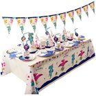 Prix de gros Children's Party Supplies Birthday Decorations Set Cartoon Cake Paper Cup