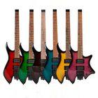 Recommandé IRIN R-700 Headless Electric Guitar Set Dual Pickups Built-in String Lock Module with Speaker