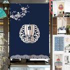 Meilleurs prix Japanese Noren Door Curtains Drape Tapestry Bar Kitchen Bath Room Divider Decor