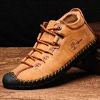 Meilleurs prix Menico Microfiber Leather Casual Hand Stitching Soft Business Ankle Boots