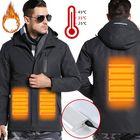 Prix de gros TENGOO Warm-E Electronic Heated Jacket Intelligent USB Heating Adjustable Temperature Waterproof Work Coat