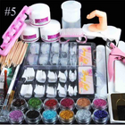 Acheter au meilleur prix Full Set Of Crystal Powder White Powder Transparent Set