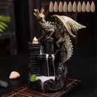 Acheter au meilleur prix Dragon Backflow Incense Ceramic Statue Figurine Home Decorations Handmade Aromatherapy