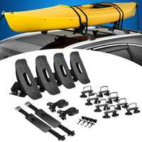 Kayak Carrier Holder Saddle Watercraft Roof Rack Arm Canoe Car Loader Marine Universal