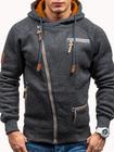 Prix de gros Men's Fashion Zipper Hoodies Casual Sweatshirts