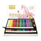 Bon prix QiLi QL-C120 120 Colors Wood Colored Pencils Artist Painting Oil Color Pencil For School Drawing Sketch Drawing Art Supplies Stationery
