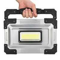 IPRee® 50W LED COB Work Light IP65 Waterproof USB Rechargeable Floodlight Spotlight Outdoor Camping Emergency Lantern