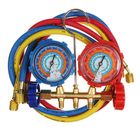 Les plus populaires Air Conditioning AC Diagnostic Manifold Gauge Tool Set Refrigeration For 134A