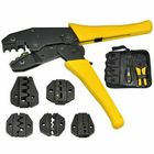 Meilleurs prix 4 in 1 Ratchet Crimper Cable Wire Crimping Plier Electrical Terminals Plier Tool Kit