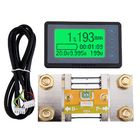 Les plus populaires TF03K 100V500A Coulomb Counter Meter Battery Capacity Indicator Voltage Current Display TTL232 Li-ion Lithium lifepo Lead Acid eBike RV with 1M Shielded Cable