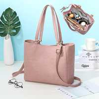 Women Ladies Multifunction Detachable Bottle Bag Handbag