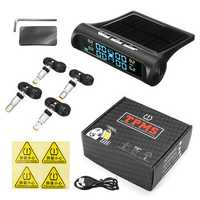 Car Solar TPMS Tire Pressure Monitor External Sensor or Internal Sensor