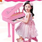Meilleurs prix 31 Keys Children Kids Electronic Keyboard Electronic Piano Microphone Stool Musical Gifts