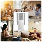 Acheter AC1200Mbps 5.8GHZ&2.4GHZ Dual Band Four Antenna Hot Wifi Repeater Wireless Router Range Extender Signal Booster