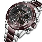 Discount pas cher NAVIFORCE 9171 Full Steel Dual Display Watch