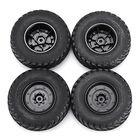 Acheter 4PCS Rims & Tires RC Car Wheels for HG P408 1/10 RC Car Spare Parts 4ASS-PA008