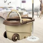 Meilleur prix 360°Rotating Head Easy Floor Mop Water Bucket 2x Heads Microfiber Spin Cleaning Tool