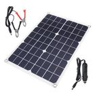 Recommended 20W DC5V Monocrystalline Ultra-thin Solar Panel Rear Wiring USB Port with Cable