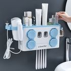 Meilleurs prix Multifunction Toothbrush Holder Automatic Toothpaste Dispenser Hair Dryer Rack