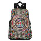 Acheter au meilleur prix Women National Style Embroidery Zipper Creative Backpack