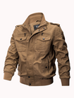 Prix de gros Outdoor Tactical Washed Cotton Plus Size Military Jacket