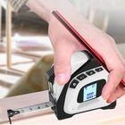 Offres Flash 2 in 1 Laser Distance Measuring Tape 40M Laser Rangefinder + 5M Tape Measure Area Volume Pythagorean Smart Steel Coil Ruler Infrared Multi-function Measuring Instrument
