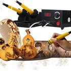 Meilleurs prix Multifunction Adjustable Wood Burning Craft Pyrography Machine Woodwork Tools Kit