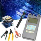 Meilleurs prix TK16 Fiber Optic FTTH Tools Kit Power Meter FC-6S Fiber Cleaver Finder Locator