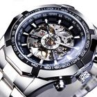 Acheter Forsining S101 Fashion Men Watch 3ATM Waterproof Luminous Display Mechanical Watch