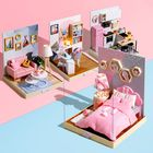 Prix de gros Cuteroom BT Corner of Happiness Series DIY Cabin Doll House Gift Collection Decoration