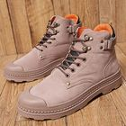 Prix de gros Anti-Collision Toe Cap Leather Outdoor Hiking Ankle Boots