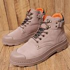 Recommandé Anti-Collision Toe Cap Leather Outdoor Hiking Ankle Boots
