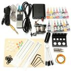 Acheter Complete Tattoo Kit With Tatoo Machine 14 Color Inks Power Supply Cord Set