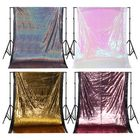 Recommandé 1.3x1.9m Glitter Sequin Fabric Photography Backdrop Curtain Wedding Party Decor