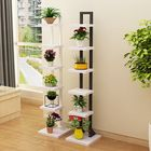 Promotion Multilayer Flower Shelf Indoor Flower Pot Rack Solid Wood Living Room Simple Floor Rack