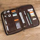 Meilleurs prix Men Genuine Leather Vinatge Messenger Bag Clutches Bag