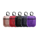 Recommended Bakeey Portable PU Leather Earphone Protective Case With Hook For Apple AirPods 1 2