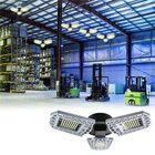 Acheter E27 80W SMD2835 Three-leaves LED Bulb Deformable Foldable Induction Light Sensor Garage Lamp AC100-277V