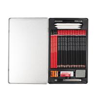 QiLi C112 Sketch Drawing Pencil Set Professional Painting Pencils School Art Supplies 3H 2H HB 2B 3B 4B 5B 6B 8B 10B