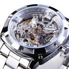 Meilleurs prix Forsining GMT1091 Light Luxury 3ATM Waterproof Luminous Display Fashion Men Mechanical Watch