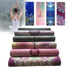 Acheter au meilleur prix KALOAD 1.5mm Nature Rubber Yoga Mat Exercise Gym Towerl Fitness Mats