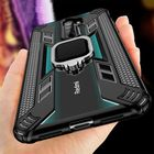 Flash Offers Bakeey Armor Shockproof Ring Holder Hard PC Protective Case For Xiaomi Redmi Note 8 Pro