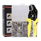 Promotion PARON JX-1601-08T AWG20-10 Crimper Plier Wire Engineering Ratchet Crimping Pliers Hand Tools with 840Pcs Terminals