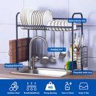 Promotion Shelf Dish Stainless Holder Steel Sink Drain Rack Kitchen Cutlery Drying Drainer Storage Rack